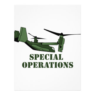 Special Operations Letterhead