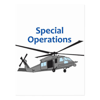 Special Operations Postcard