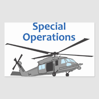 Special Operations Rectangular Sticker