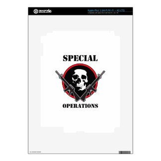SPECIAL OPERATIONS DECAL FOR iPad 3