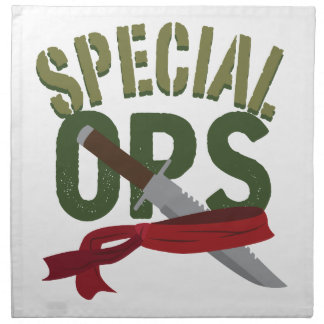 Special Ops Cloth Napkin