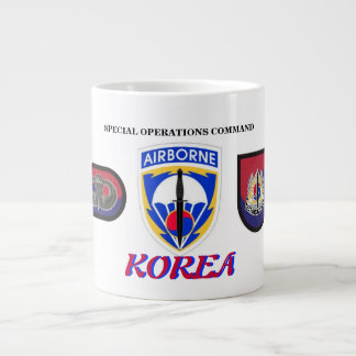 SPECIAL OPS COMMAND KOREA JUMBO MUG