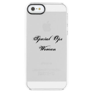 Special Ops Woman iphone case