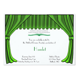 Special Order Drama and Theater Invitation
