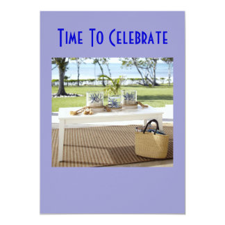 SPECIAL OUTDOOR CELEBRATION INVITATION