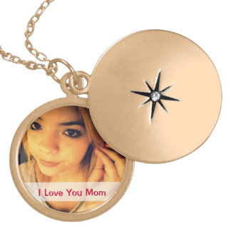 Special Photo Locket Necklace For Mom