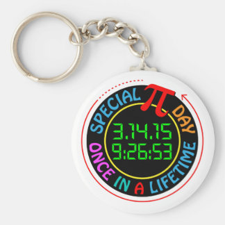 Special Pi Day 2015 Keychain