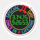 Special Pi Day 2015 Round Sticker