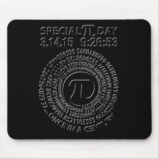 Special Pi Day 2015, Spiral Mouse Pad