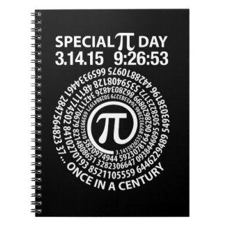 Special Pi Day 2015, Spiral Note Books