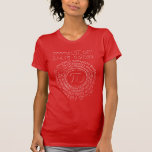 Special Pi Day 2015, Spiral Tee Shirt