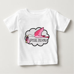 Special Pink Delivery Baby T-Shirt