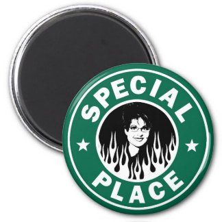 Special Place In Hell 2 Inch Round Magnet