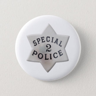 Special Police Pinback Button