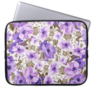 Special Purple Flowers Laptop Sleeve