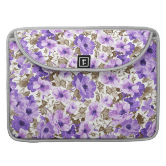 Special Purple Flowers  Sleeve for Macbook Pro