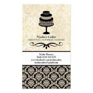 Special Request for Nysha's Cakes Double-Sided Standard Business Cards (Pack Of 100)