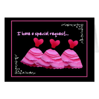 SPECIAL REQUEST - Hostess Wedding Invitation Greeting Card