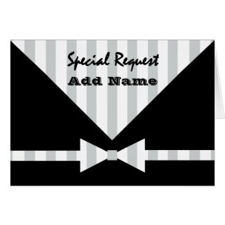 Special Request Wedding Party ANY ROLE V03 Card