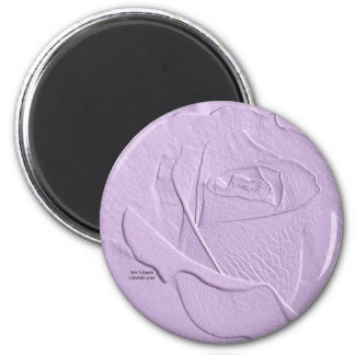 Special Rose Lavender Magnet