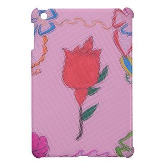 Special Rose Tile Art Graphic Design iPad Mini Case
