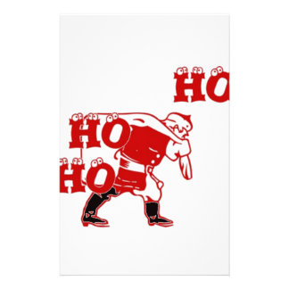 Special Santa Hohoho! Merry Christmas Gifts.png Stationery Paper