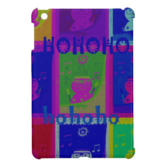 Special  Santa HoHoho Pop Art colors Case For The iPad Mini