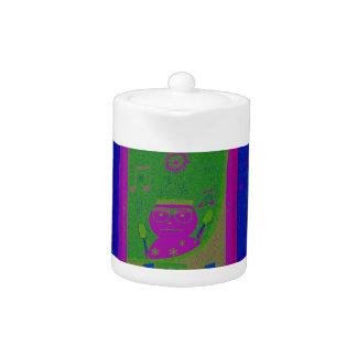 Special  Santa HoHoho Pop Art colors Teapot