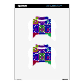 Special  Santa HoHoho Pop Art colors Xbox 360 Controller Decal
