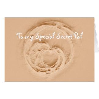 Special Secret Pal Greeting Card