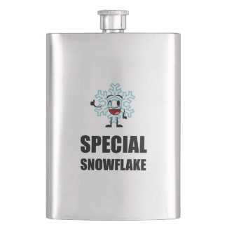 Special Snowflake Funny Flask