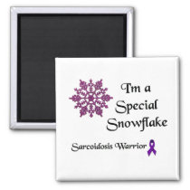 Special Snowflake Sarcoidosis Warrior Magnet
