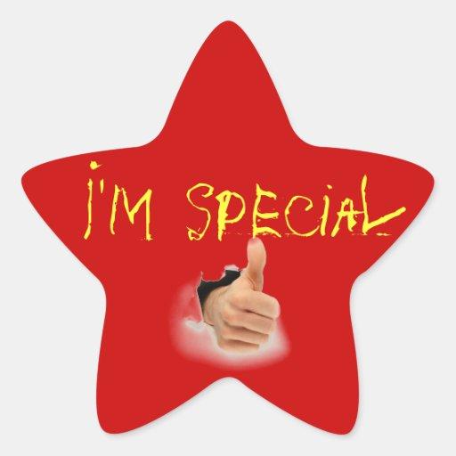 special star sticker