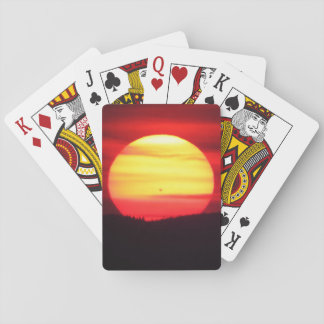 Special Sunset Playing Cards