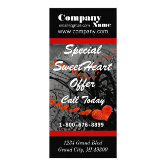 Special SweetHeart Sale Boutique Rack Card