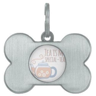 Special Tea Pet ID Tag