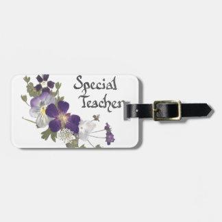 Special Teacher Travel Bag Tags