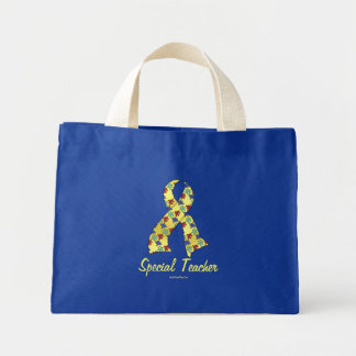 Special Teacher Mini Tote Bag