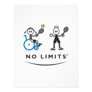 Special Tennis Girl Flyer
