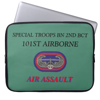 SPECIAL TROOPS BN 2ND BCT 101ST ABN LAPTOP SLEEVE