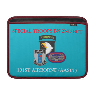 SPECIAL TROOPS BN 2ND BCT 101ST ABN MACBOOK SLEEVE