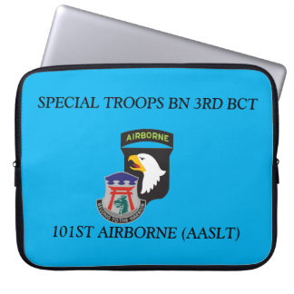 SPECIAL TROOPS BN 3RD BCT 101ST LAPTOP SLEEVE