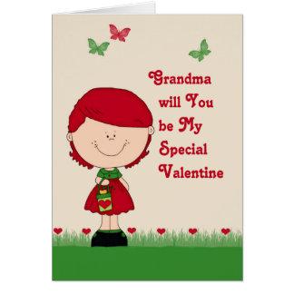 Special Valentine Card for Grandma