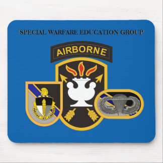 SPECIAL WARFARE EDUCATION GROUP MOUSEPAD