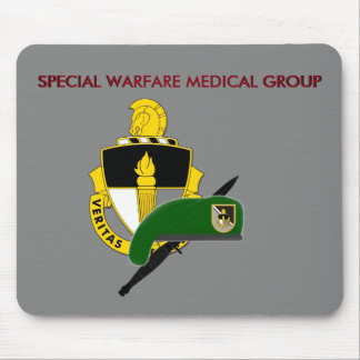 SPECIAL WARFARE MEDICAL GROUP MOUSEPAD