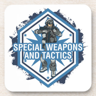 Special Weapons And Tactics Drink Coaster