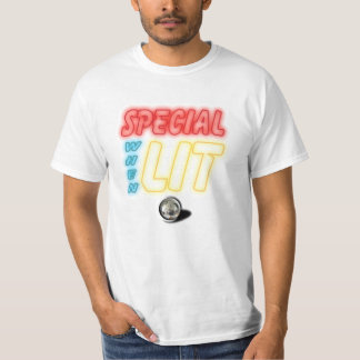 Special When Lit Pinball Machine Shirt