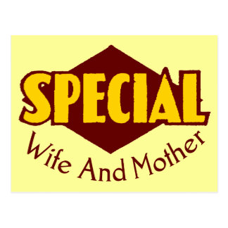 Special Wife T-shirts and Gifts For Mom Postcard
