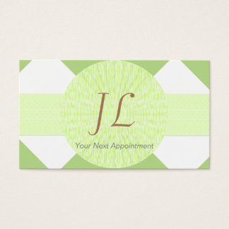 Specialist Appointment Card/ U-pick Color Checker Business Card