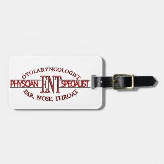 SPECIALIST ENT Otolaryngology Ear Nose Throat LOGO Luggage Tag
